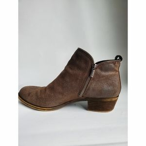 Lucky brand bartalino leather Ankle boot size 9.5